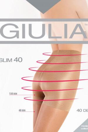 Моделирующие и утягивающие колготки SLIM 40 Giulia