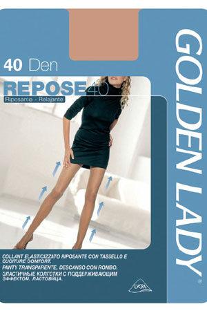 Женские классические колготки REPOSE 40 Golden Lady