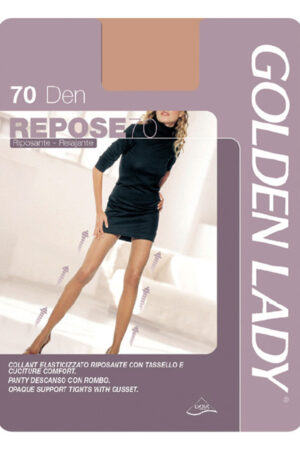 Женские классические колготки REPOSE 70 Golden Lady