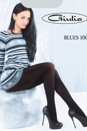 Женские классические колготки BLUES 100 3D Giulia