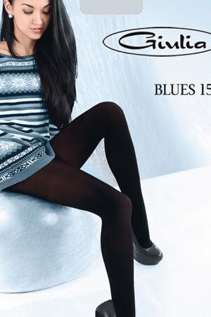 Женские классические колготки BLUES 150 3D Giulia