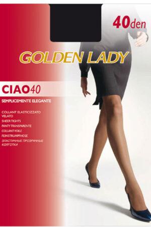 Женские классические колготки CIAO 40 Golden Lady
