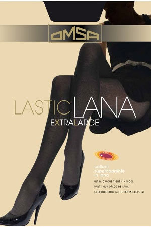 Женские классические колготки LASTICLANA XL Omsa
