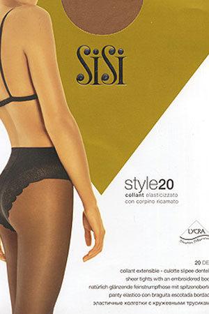 Женские классические колготки STYLE 20 SiSi