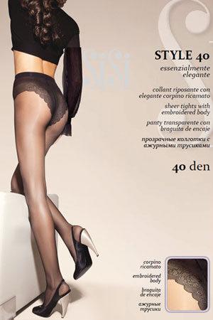 Женские классические колготки STYLE 40 SiSi