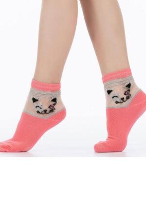 Носки из хлопка для девочек KS3 CRYSTAL LUREX-001 носки Giulia
