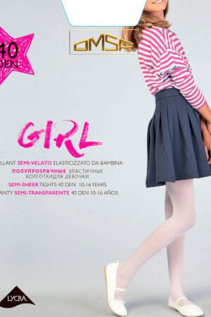 Колготки классические для девочек GIRL 40 Omsa