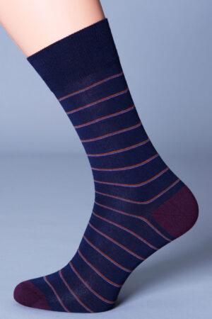 Мужские носки с рисунком ELEGANT 403 носки Giulia