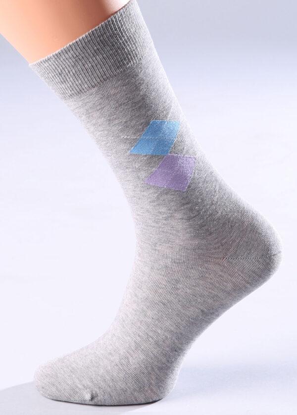 Мужские носки с рисунком COMFORT MELANGE 01 носки Giulia