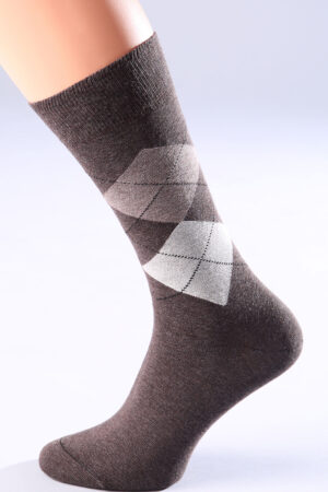 Мужские носки с рисунком COMFORT MELANGE 02 носки Giulia