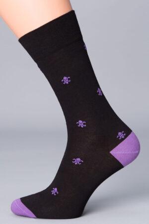Мужские носки с рисунком ELEGANT 407 носки Giulia