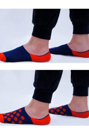 Мужские носки FOOTIES FM 002 COTTON (2 п.) подследники Giulia