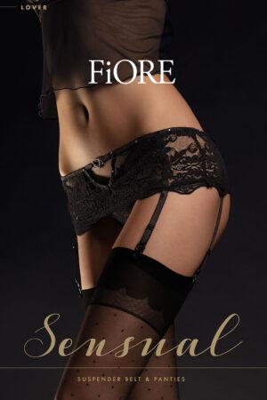 Комплект белья для женщин LOVER трусы+пояс Fiore