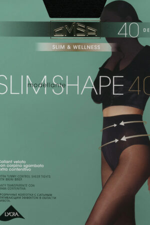 Моделирующие и утягивающие колготки SLIM SHAPE 40 Omsa