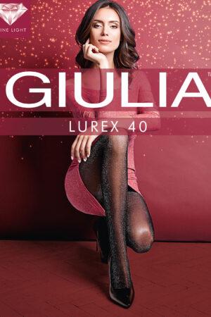 Блестящие колготки с люрексом LUREX 40 Giulia