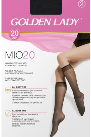 Классические гольфы MIO 20 гольфы (2 п.) Golden Lady
