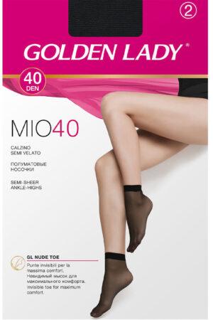 Женские классические носки MIO 40 носки (2 п.) Golden Lady