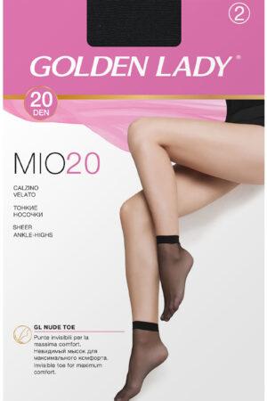 Женские классические носки MIO 20 носки (2 п.) Golden Lady