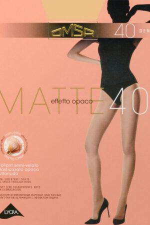 Женские классические колготки MATTE 40 Omsa