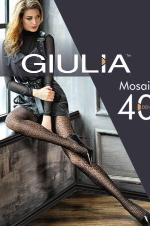 Фантазийные колготки с рисунком MOSAIC 03 Giulia