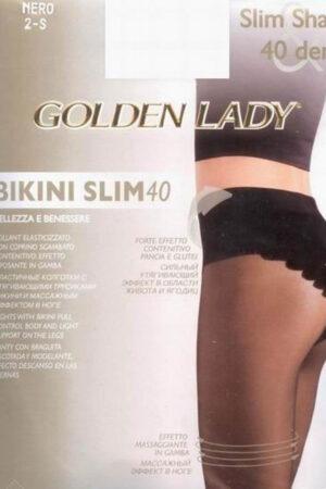 Моделирующие и утягивающие колготки BIKINI SLIM 40 Golden Lady