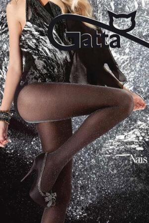Блестящие колготки с люрексом NAIS Gatta
