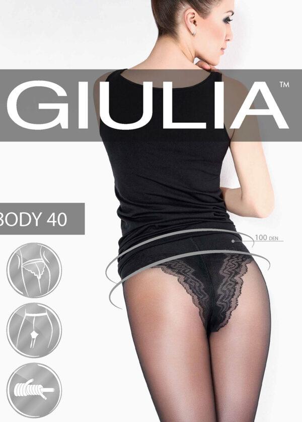 Моделирующие и утягивающие колготки BODY 40 Giulia