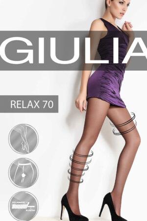Компрессионные колготки массажные RELAX 70 Giulia