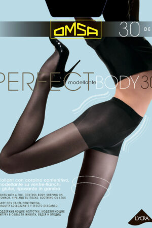 Моделирующие и утягивающие колготки PERFECT BODY 30 Omsa