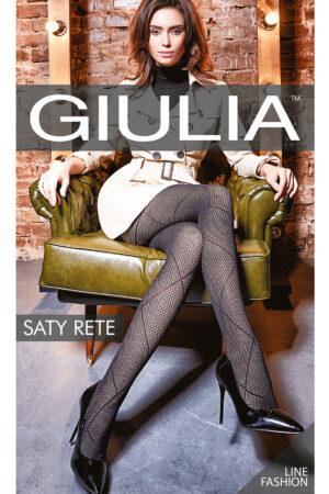 Фантазийные колготки с рисунком SATY RETE 01 Giulia