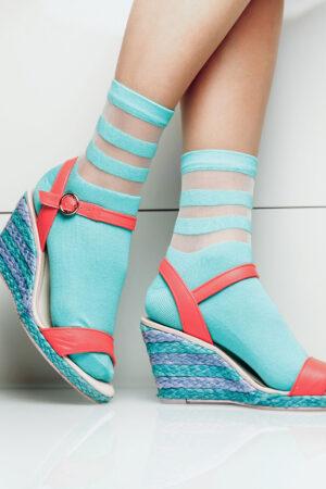 Женские хлопковые носки WSM-017 носки Giulia