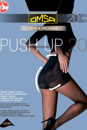 Моделирующие и утягивающие колготки PUSH-UP 20 Omsa