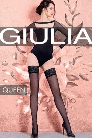 Чулки фантазийные QUENN 01 чулки Giulia