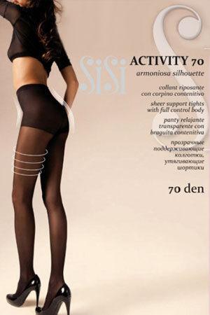 Женские классические колготки ACTIVITY 70 SiSi