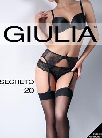Чулки для ношения с поясом SEGRETO 20 чулки Giulia