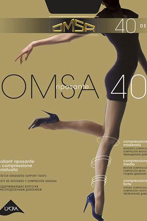 Женские классические колготки OMSA 40 XL Omsa