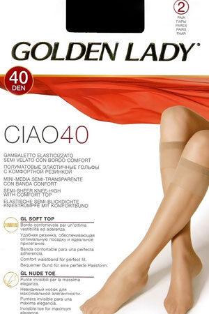 Классические гольфы CIAO 40 гольфы (2 п.) Golden Lady
