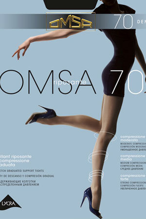 Женские классические колготки OMSA 70 Omsa