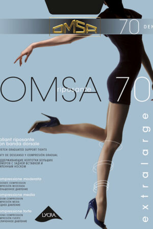 Женские классические колготки OMSA 70 XL Omsa