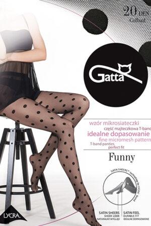 Фантазийные колготки с рисунком FUNNY 07 Gatta