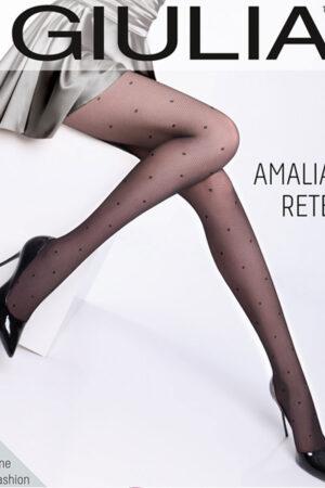 Фантазийные колготки с рисунком AMALIA RETE 01 Giulia