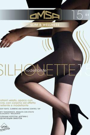 Моделирующие и утягивающие колготки SILHOUETTE 15 XL Omsa