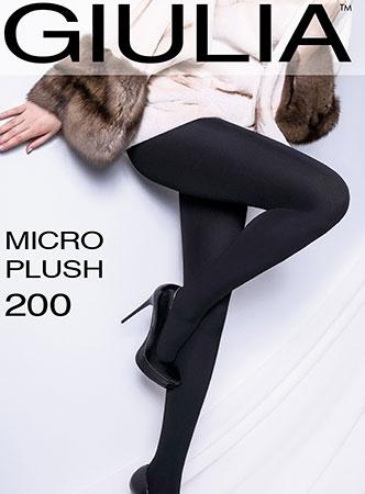 Плотные непрозрачные колготки MICRO PLUSH 200 Giulia