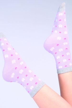 Женские хлопковые носки WS-08 носки Giulia