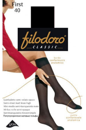Классические гольфы FIRST 40 gamba гольфы Filodoro