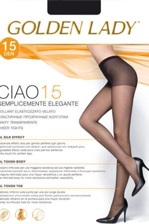 Женские классические колготки CIAO 15 Golden Lady