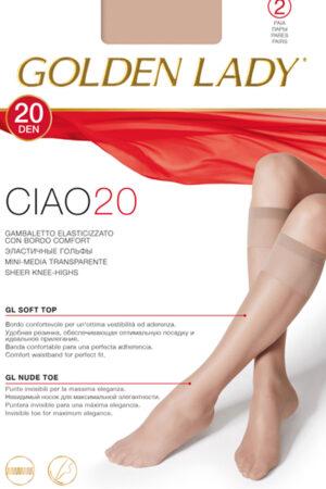 Классические гольфы CIAO 20 гольфы (2 п.) Golden Lady