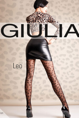 Фантазийные колготки с рисунком LEO 01 Giulia