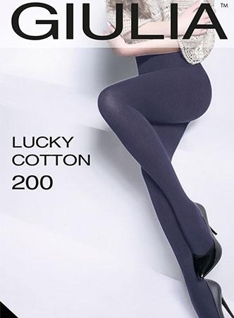 Колготки из хлопка для женщин LUCKY COTTON 200 Giulia