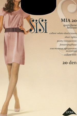 Женские классические колготки MIA 20 SiSi